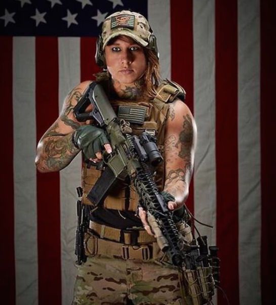 Kinessa Johnson served four years in the Army as a weapons ...
