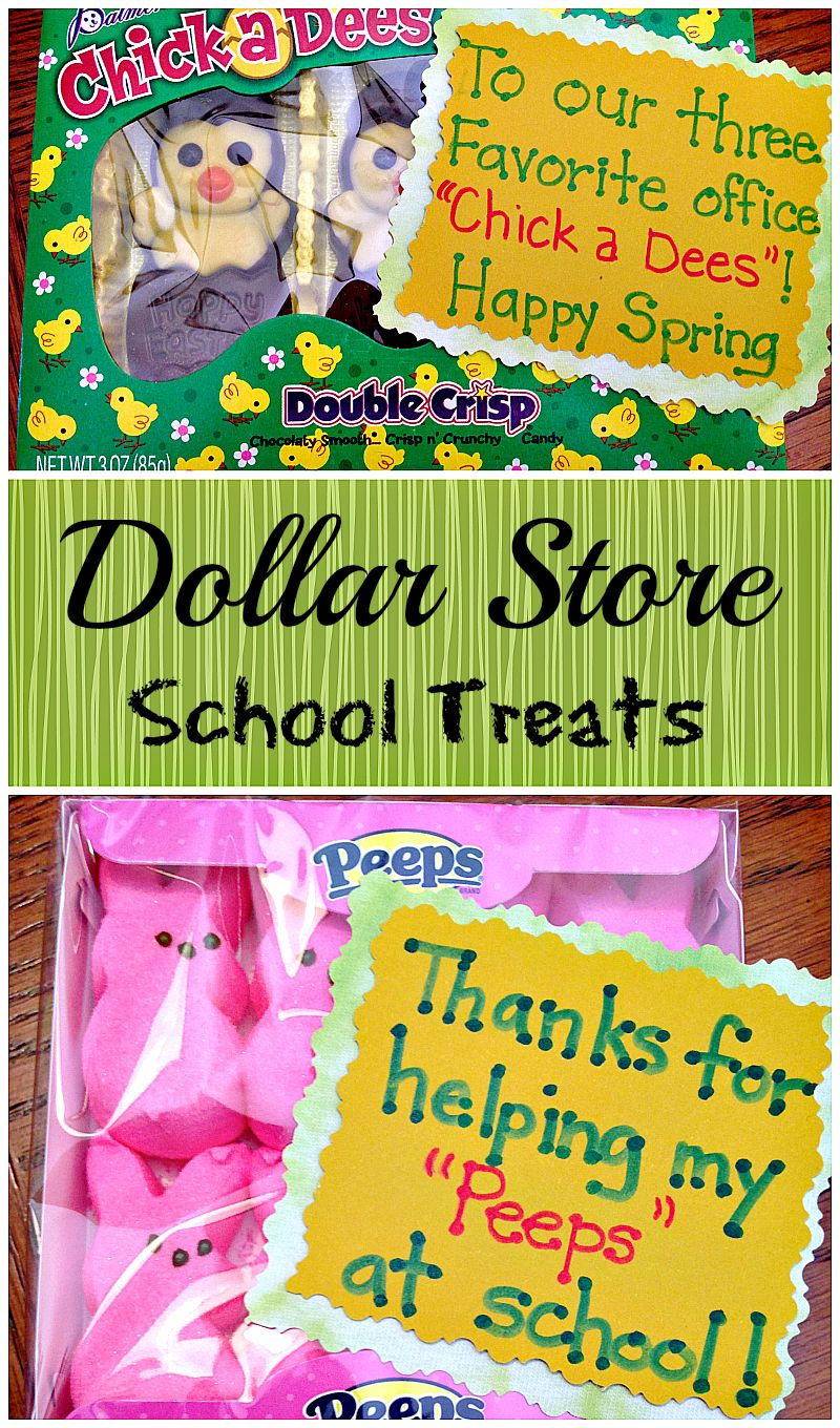 Dollar store gifts for teachers gifts the ojays and easter gift if you are looking for inexpensive easter gifts for teachers or ideas you can use for items at the dollar store here are a few that youll love negle Choice Image