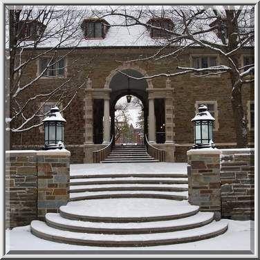 Balch Hall Of Cornell University In Snow Ithaca New York Cornell University College Architecture Cornell