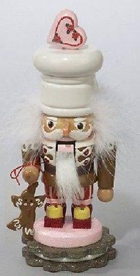 Wooden Gingerbread Man Christmas Nutcracker from Kurt Adler Holiday Baking Decor