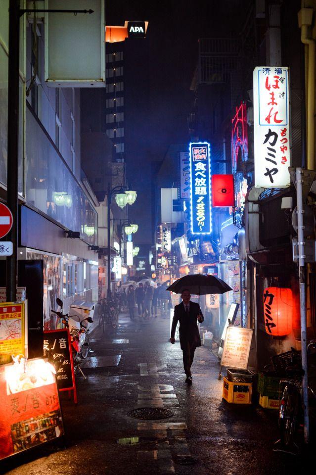 Tokyo Street Photography #largeumbrella