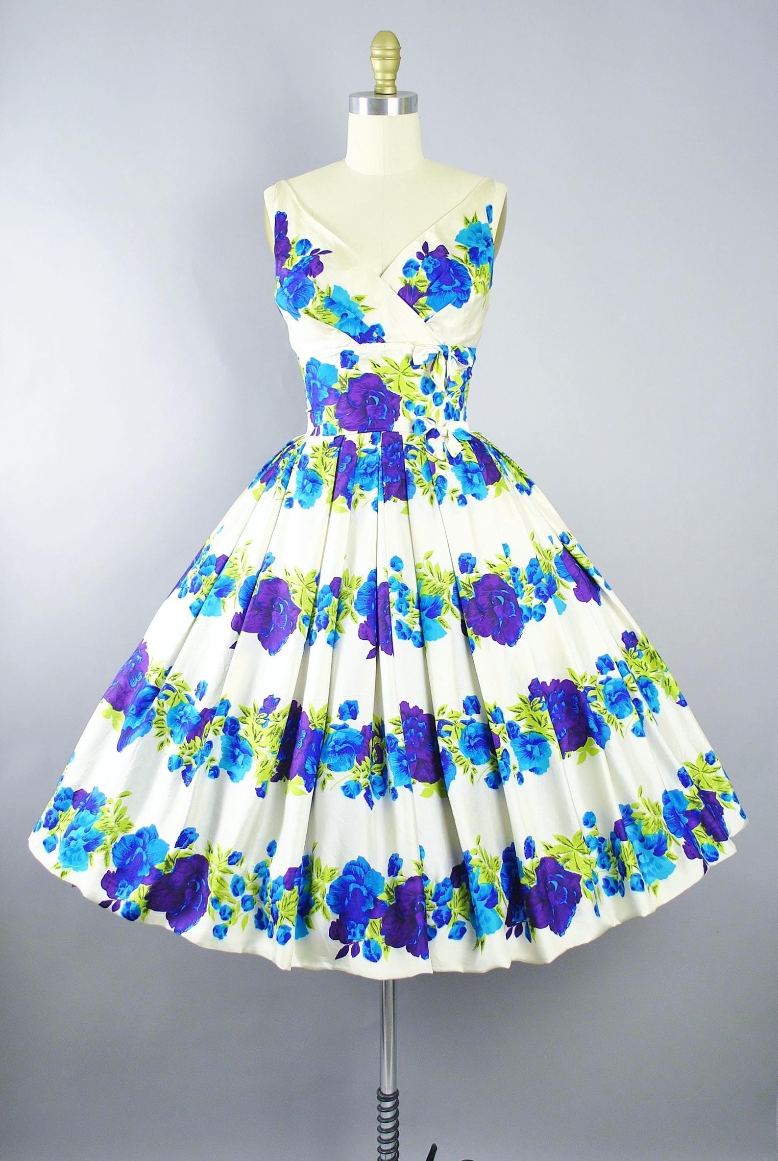 Reserved 50s Poppy Dress 1950s Silk Sundress Purple Plum Etsy Vintage Dress Patterns White Vintage Dress Dresses [ 2368 x 1588 Pixel ]