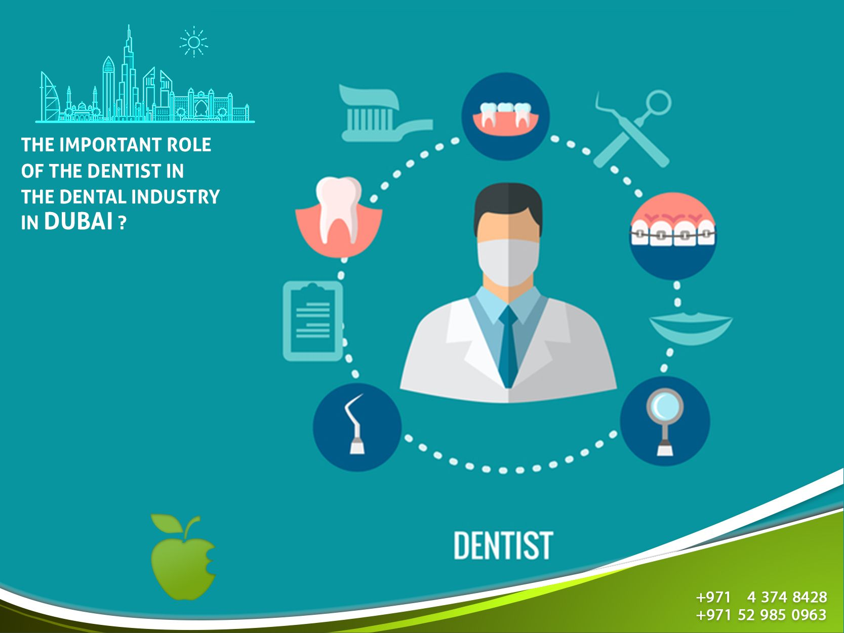 The Important Role of the Dentist in the Dental Industry