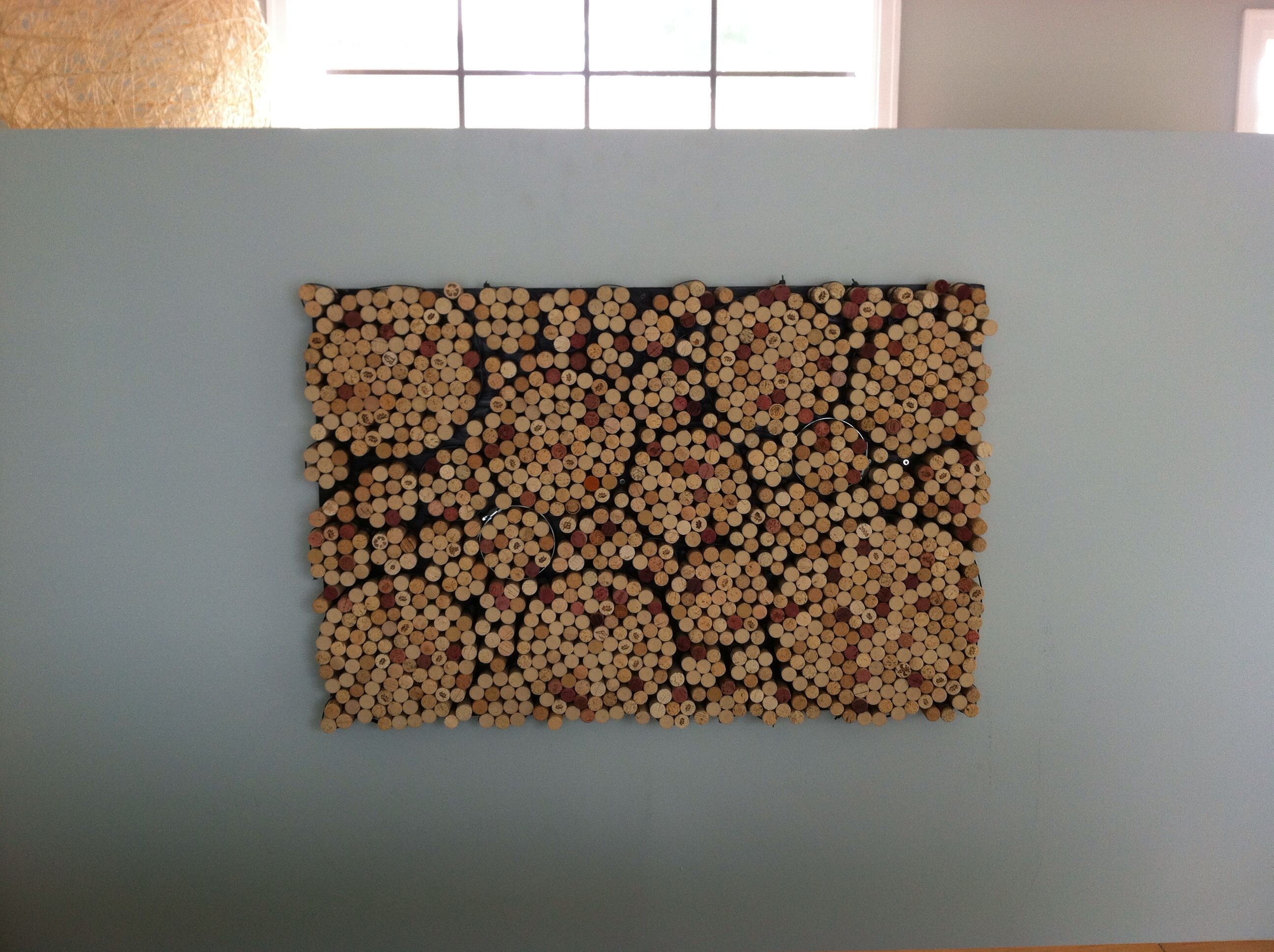 wine cork spirals wall art decor ideas pinterest