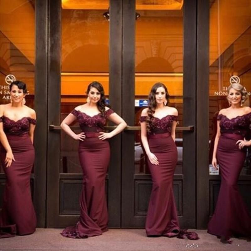 904d47cd1e1 Cheap burgundy bridesmaid dresses