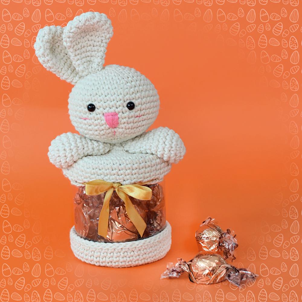 Amigurumi Receita do Coelhinho Porta Chocolates | Blog da Ana Paula