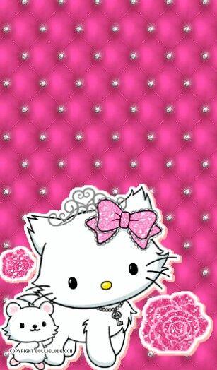 Charmmy Hello Kitty Wallpaper Hello Kitty Phone Wallpaper Iphone Wallpaper Glitter