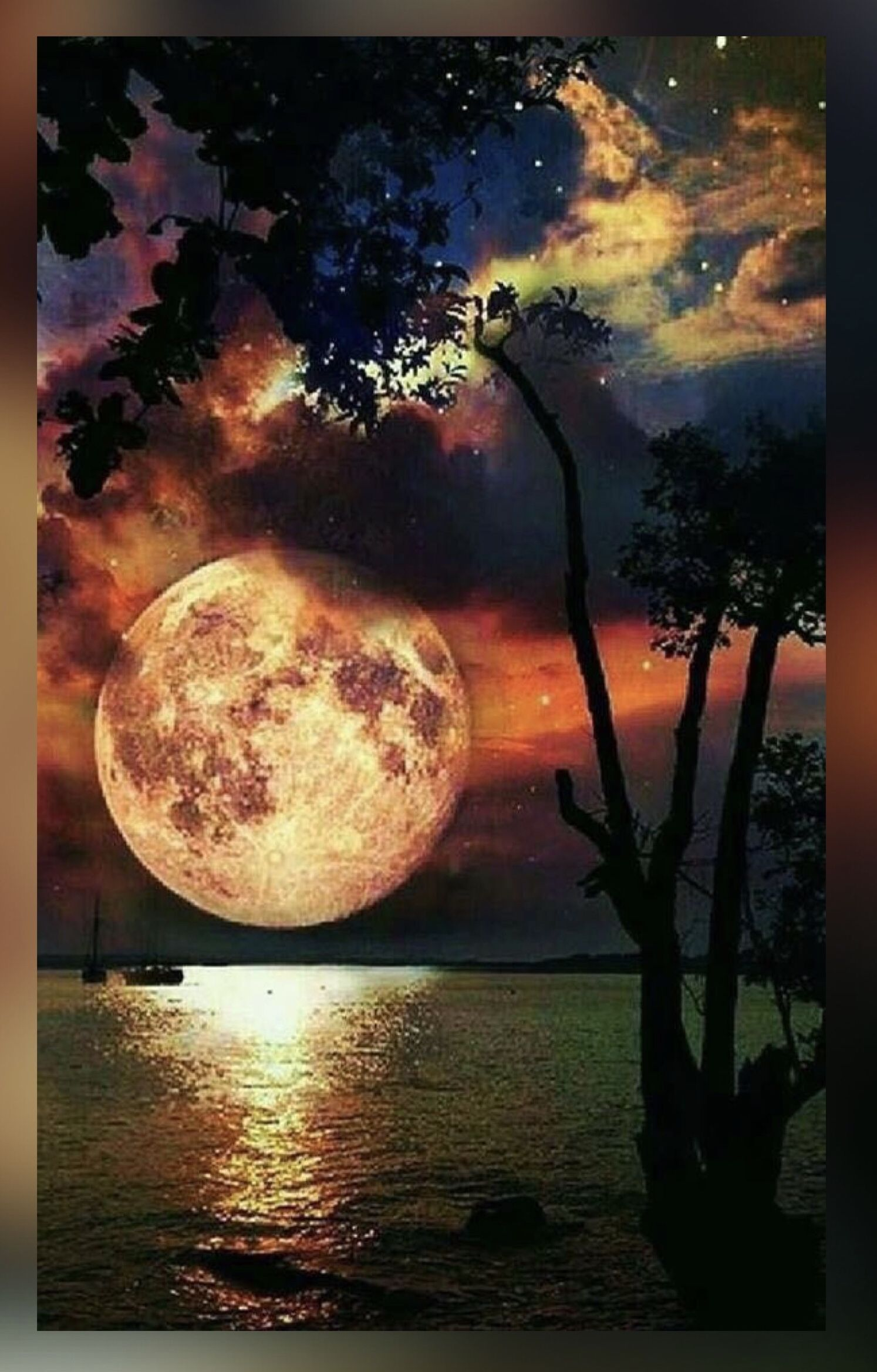 Pin By Kar3n 59 On Jehovah S Awesome Creation Beautiful Moon Beautiful Nature Nature Pictures
