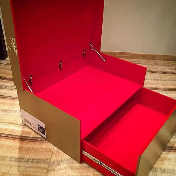 christian louboutin shoe box organizer