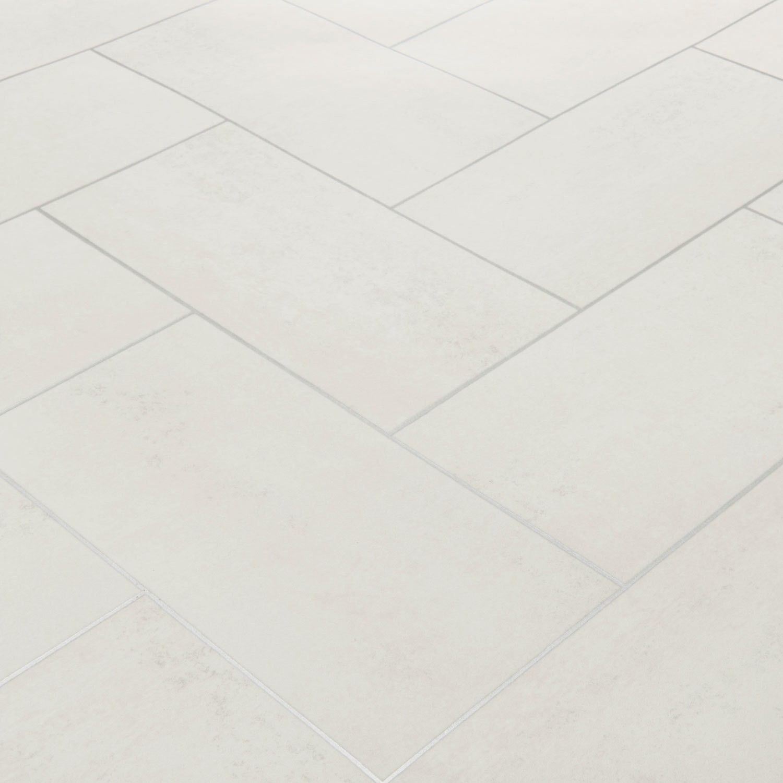floorgrip 502 bilbao white stone tile vinyl flooring | vinyl