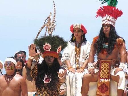 vestimenta de los mayas hombres y mujeres