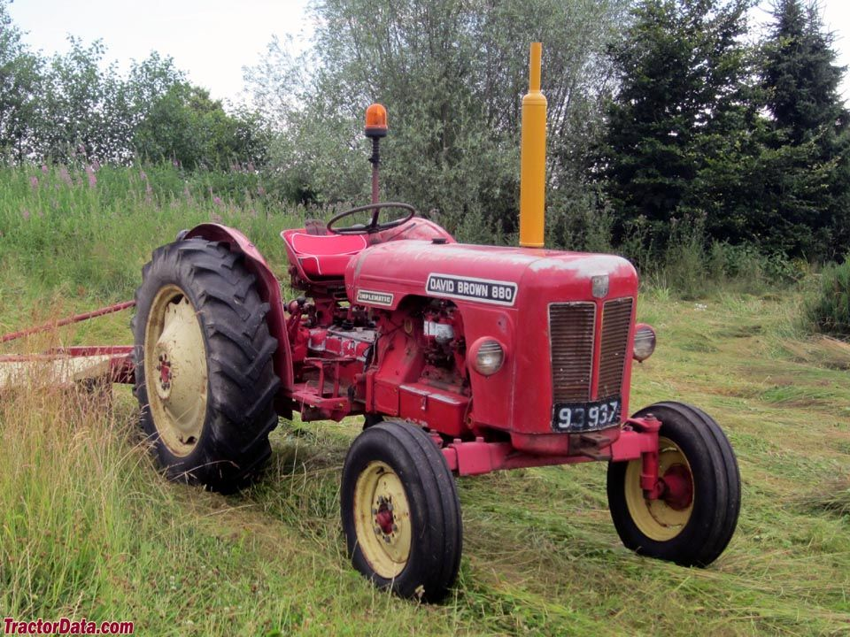 880 Ford Tractors : Late model david brown implematic with three