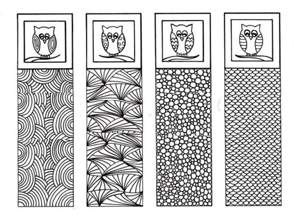 An Owl Bookmarks Coloring Pages Best Place To Color Coloring Bookmarks Coloring Pages Coloring Books