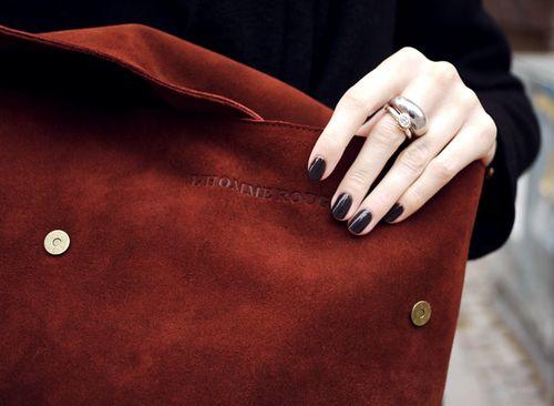 Imagem de fashion, bag, and nails