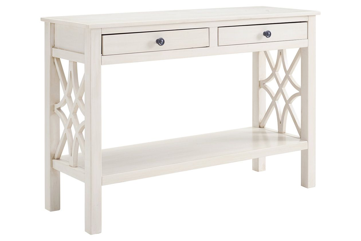 Linon Whitley Antique Finish Console Table Ashley Furniture Homestore Antique Console Table Console Table Ashley Furniture