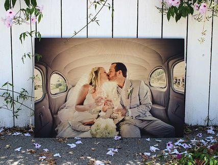 日本未販売!ロスで人気のWoodsnap木に写真をプリント!約20cm
