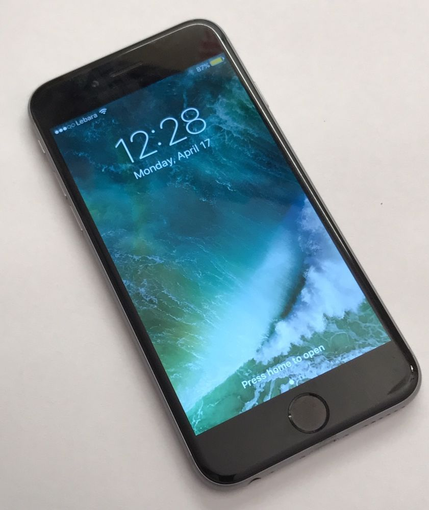 Apple Iphone 6 16gb Space Grey Unlocked - Details about apple iphone 6 16gb space grey unlocked smartphone good condition