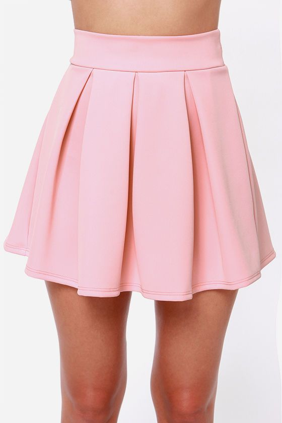 5cf26d5dc Exclusive Times Flare Light Pink Skirt | My Pink dreams | Light pink ...