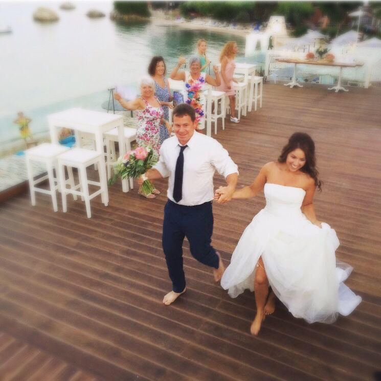 Wedding In Lefkada Greece Beach Venue By The Sea With Stunning View And