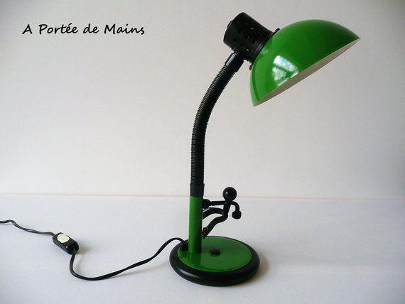 Lampe Aluminor Verte Lampe A Poser Lampe D Appoint Lampe De