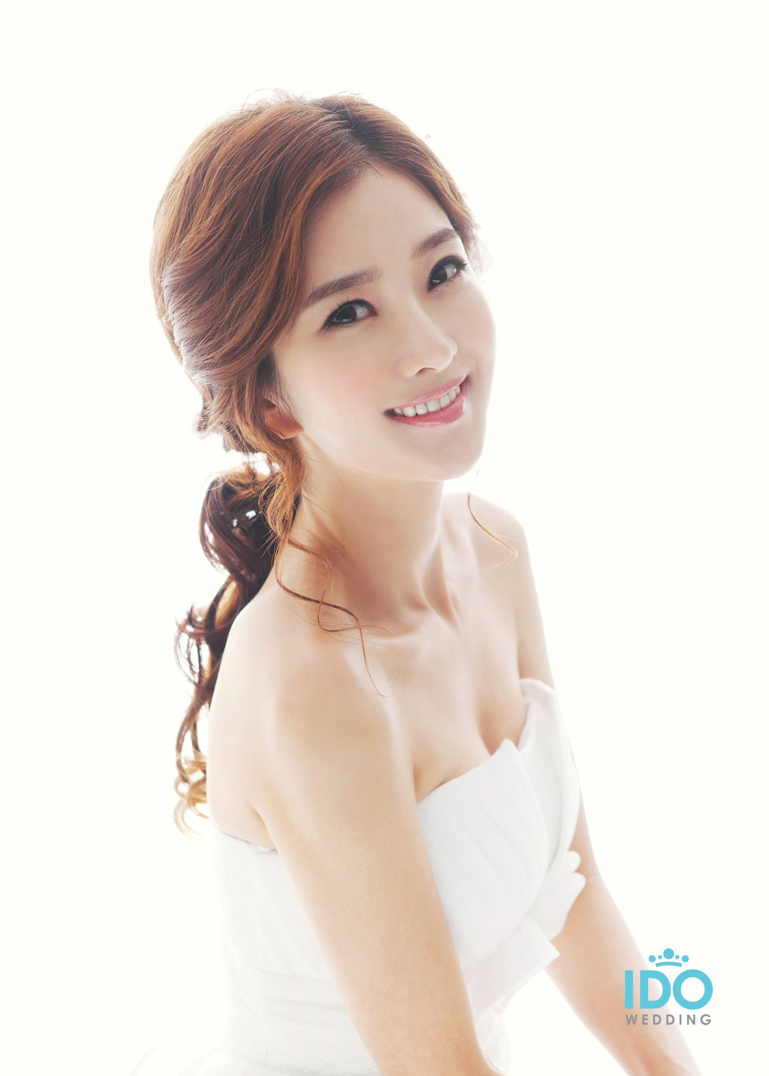 Korean Wedding Photo Hair Makeup Style Korean Wedding Hair