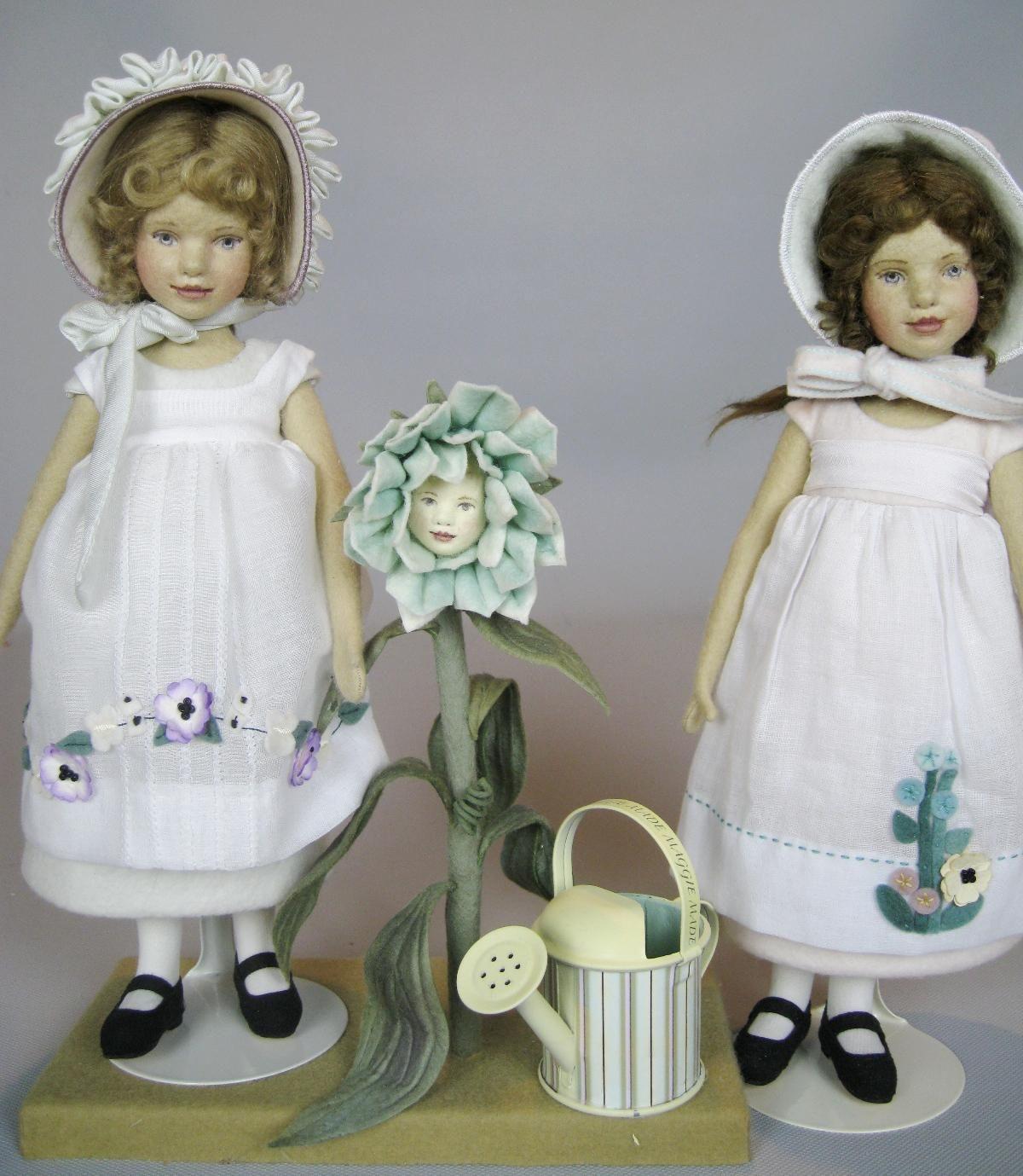 Two Maggie Iacono 'Meadow' Dolls UFDC 2009 Atlanta