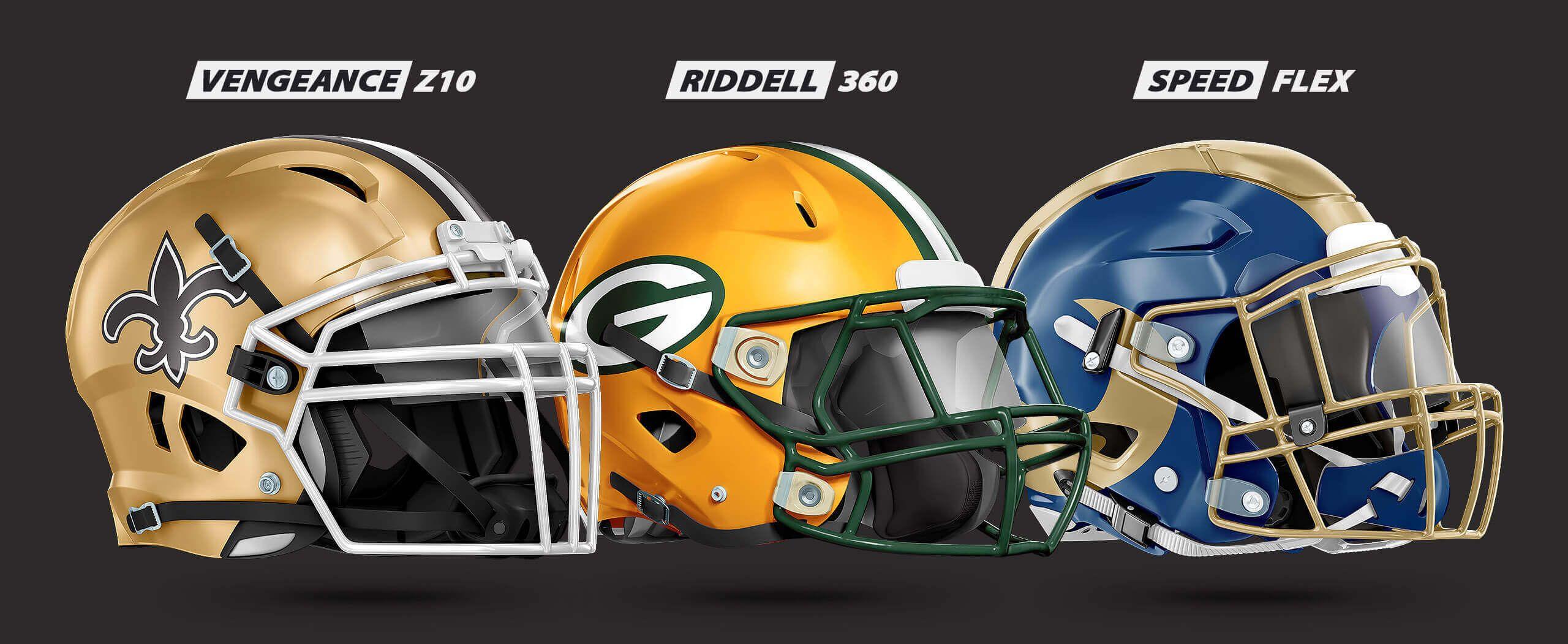 12b30038b Riddell and Schutt photoshop PSD helmet template