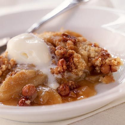 Peanut Brittle-Apple Crisp Recipe | MyRecipes