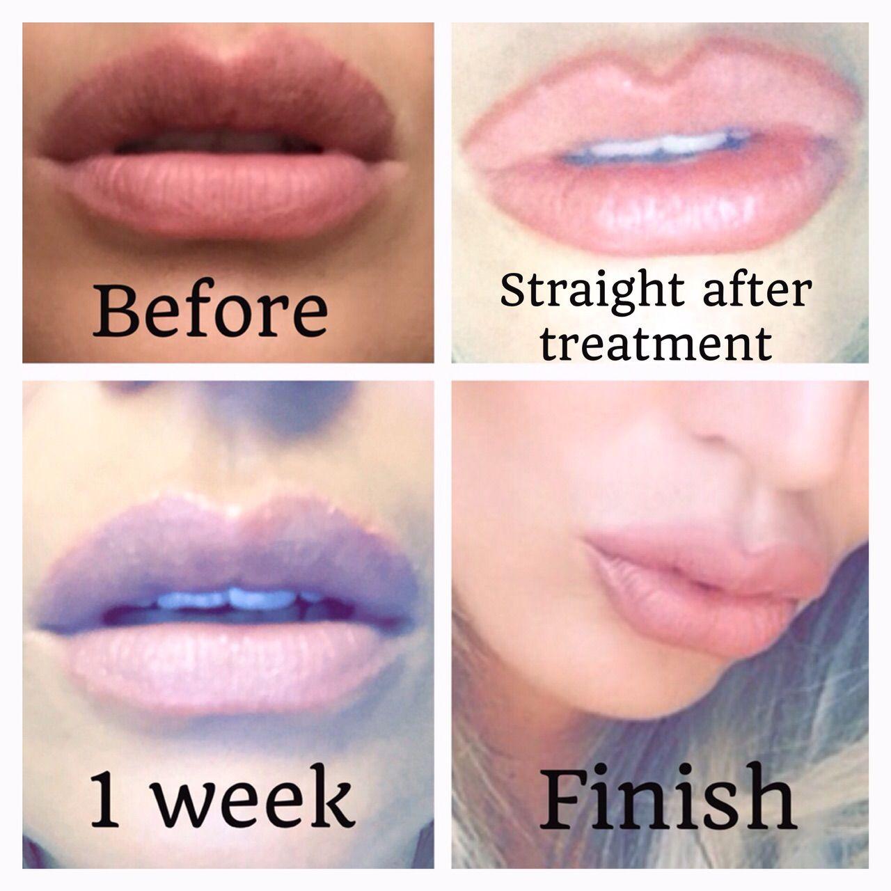 Image result for semi permanent lip blush Semis