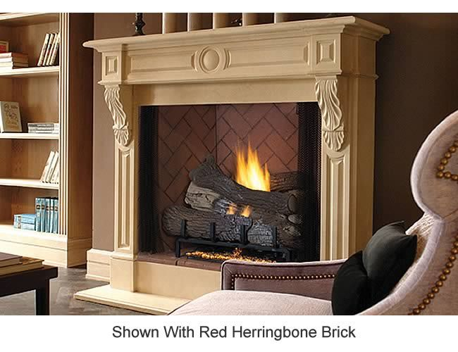Superior Fireplaces 50 Vent Free Firebox Fireplace Superior