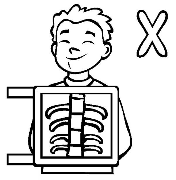 Learn Letter X For X Ray Coloring Page Bulk Color Coloring Pages Princess Coloring Pages Disney Princess Coloring Pages