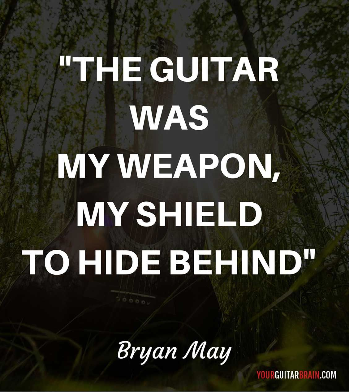 About Guitar From Bryan May