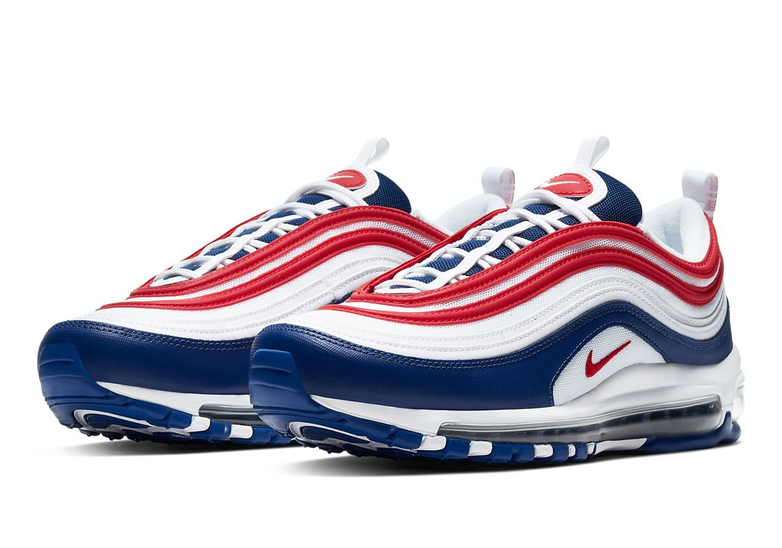 Nike Air Max 97 Usa Available Now Cw5584 100 Sneakernews Com In 2020 Nike Air Max 97 Sneakers Nike Air Max Air Max 97