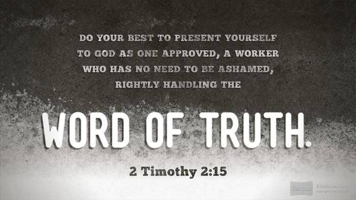 2 Timothy 2 15 Verses For Cards 2 Timothy Words