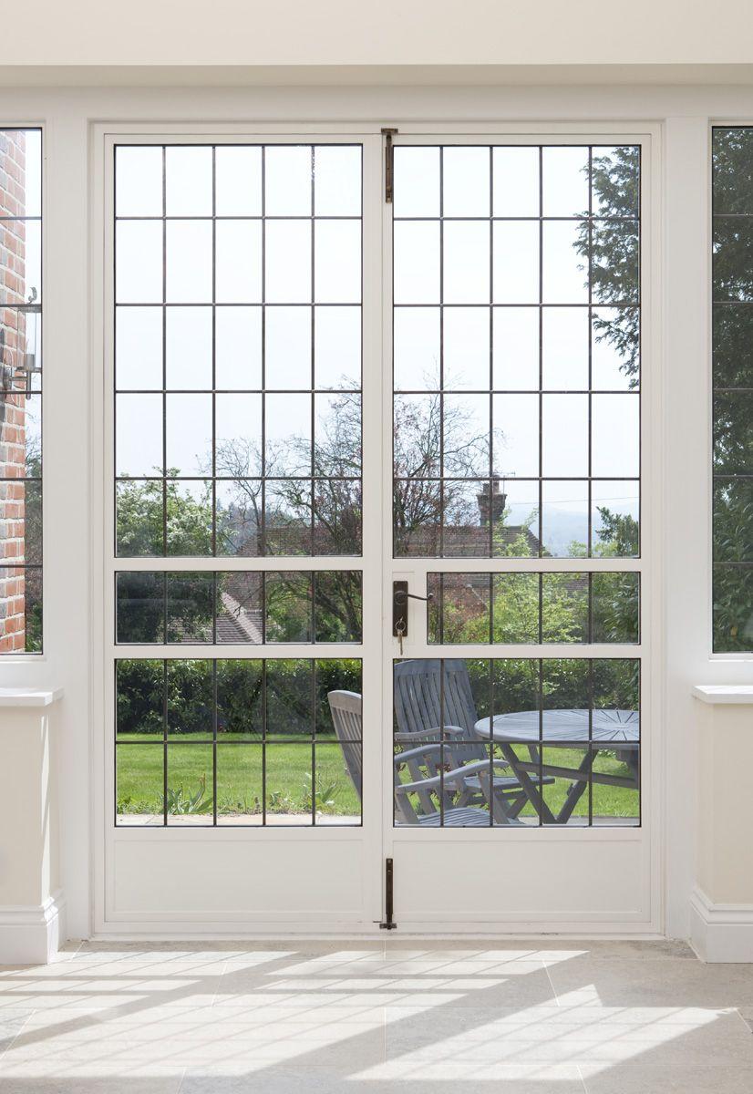 Clement EB24 steel doors look elegant in this private residence. See ...