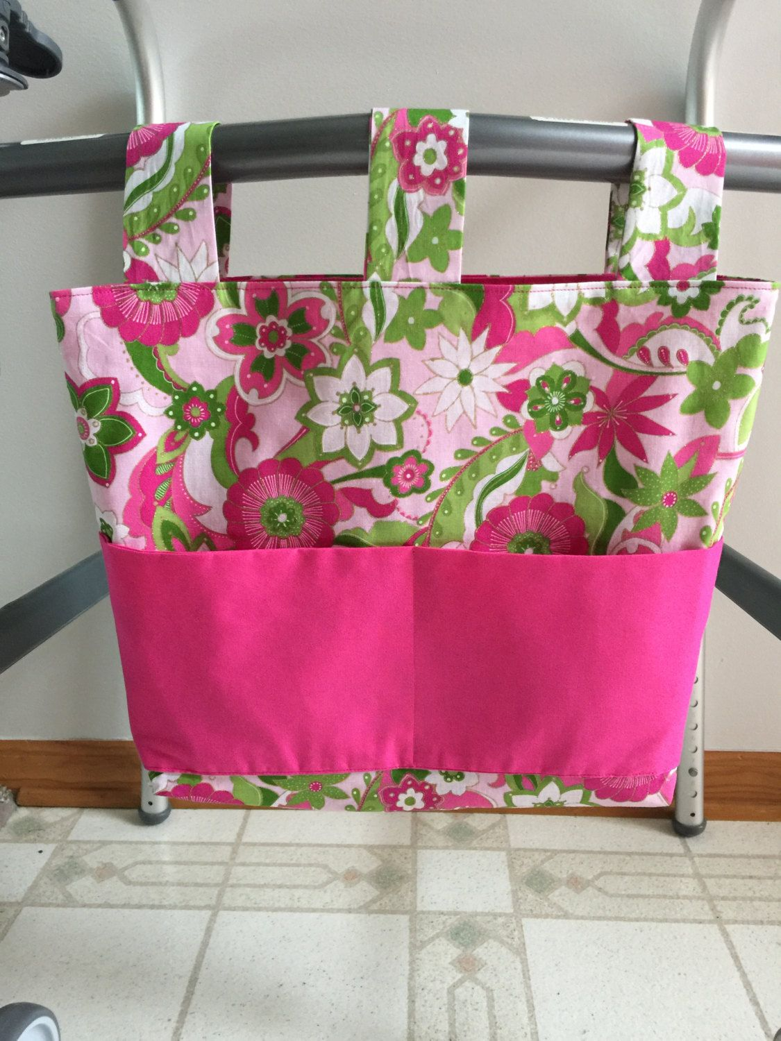 Walker Bag, Walker Tote, Carry all, Mobility Bag by