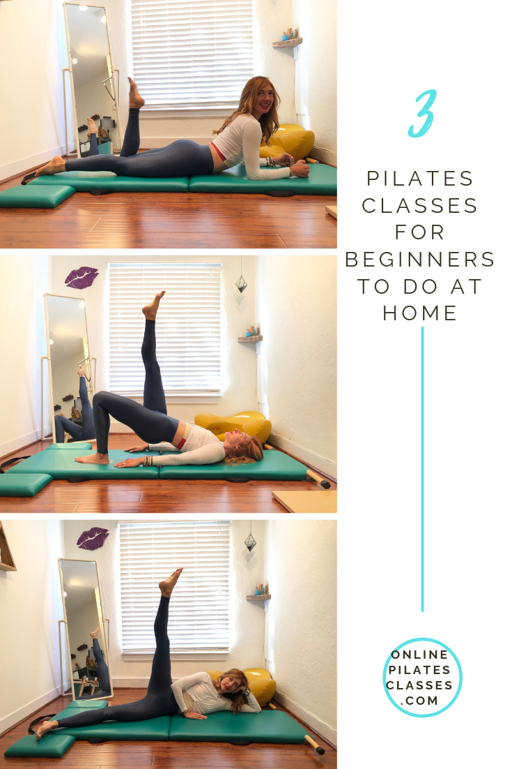 3 Pilates Classes for Beginners #pilatescourses