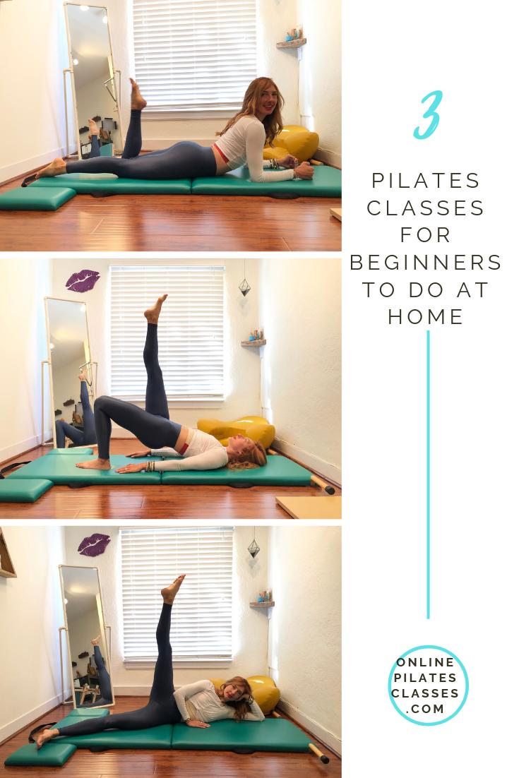 3 Pilates Classes for Beginners #pilatescourses