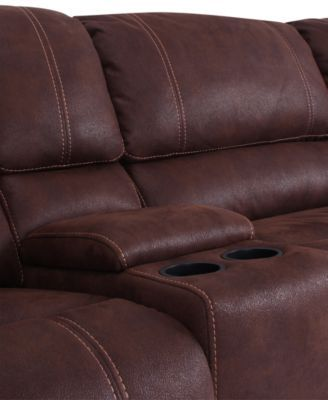 Jedd Fabric 6-Pc. Power Motion Reclining Sectional Sofa (2 Recliners Armless : jedd sectional - Sectionals, Sofas & Couches