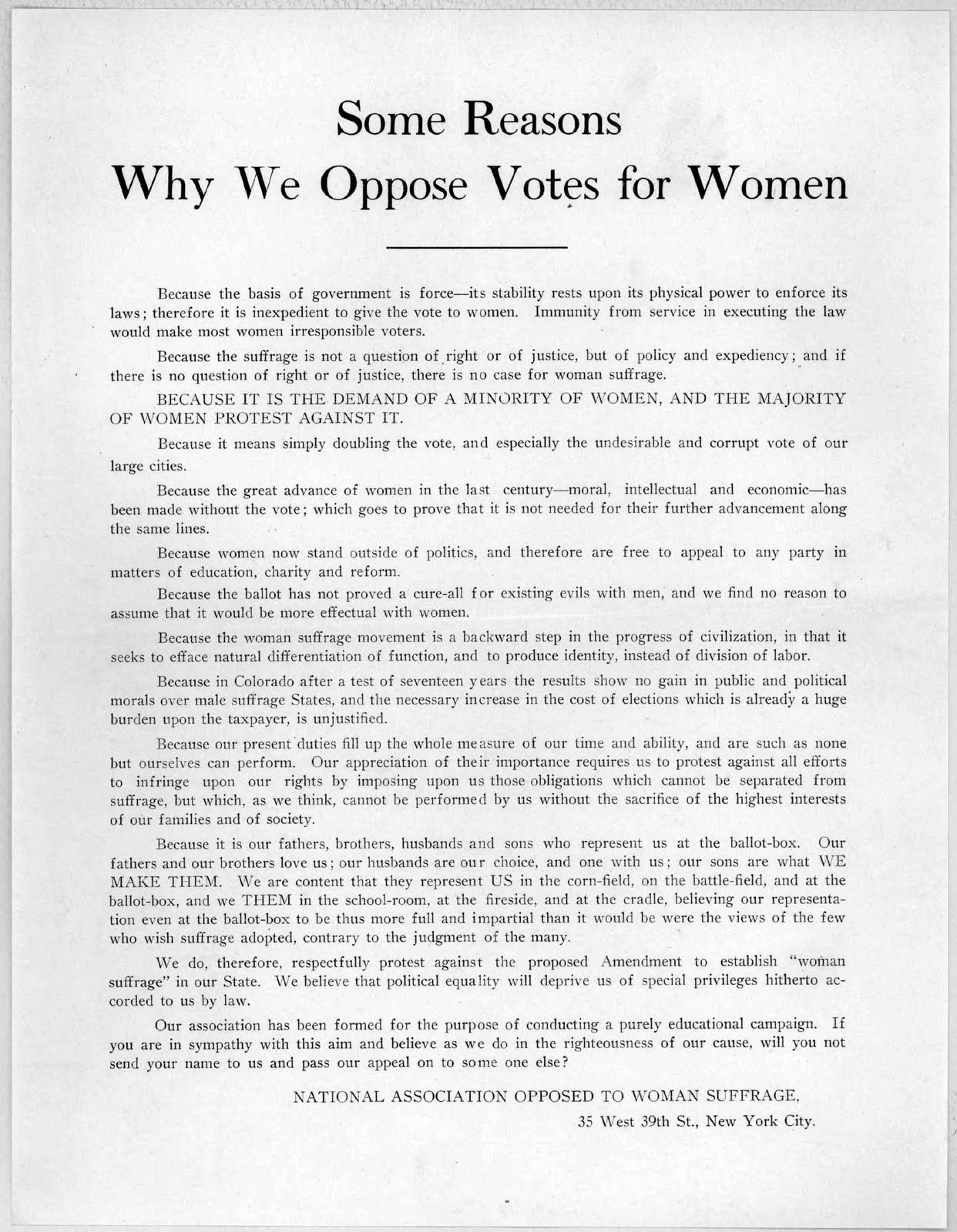 Just For Fun Suffragist Satire 1915 Sociological Image Suffrage Movement Reform Woman Essay