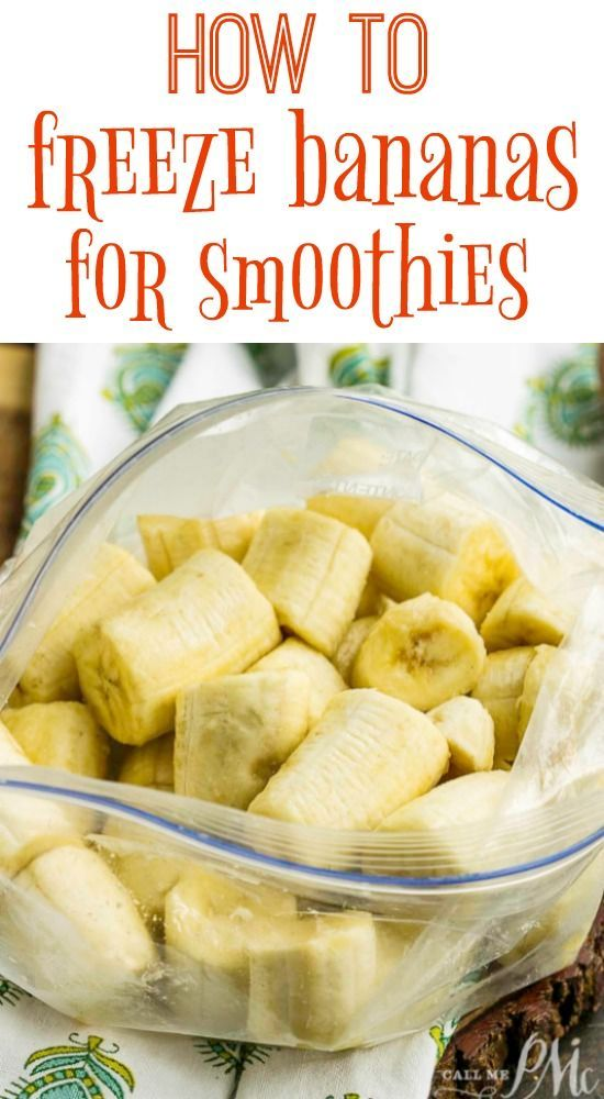 . Armed with a freezer full of frozen bananas, you'll always be ready for smoothies, nice cream, or banana bread. #frozenbananarecipes