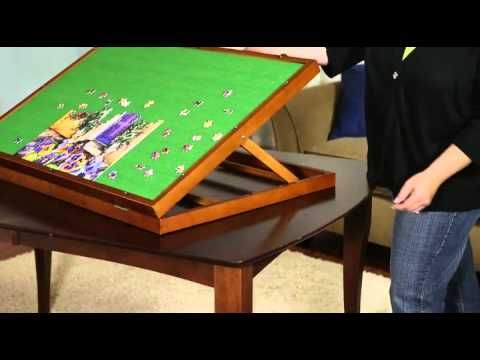 Puzzleboard Jigsaw Puzzle Storage Made Easy How To From Herrshners Puzzle Storage Puzzle Table Jigsaw Puzzle Table