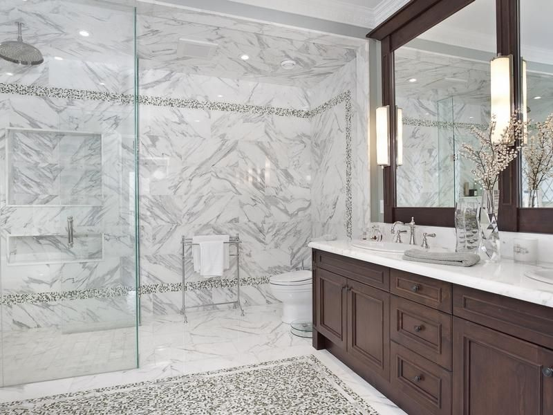Mesmerizing Grey Marble Bathrooms Pictures - Best idea home design .
