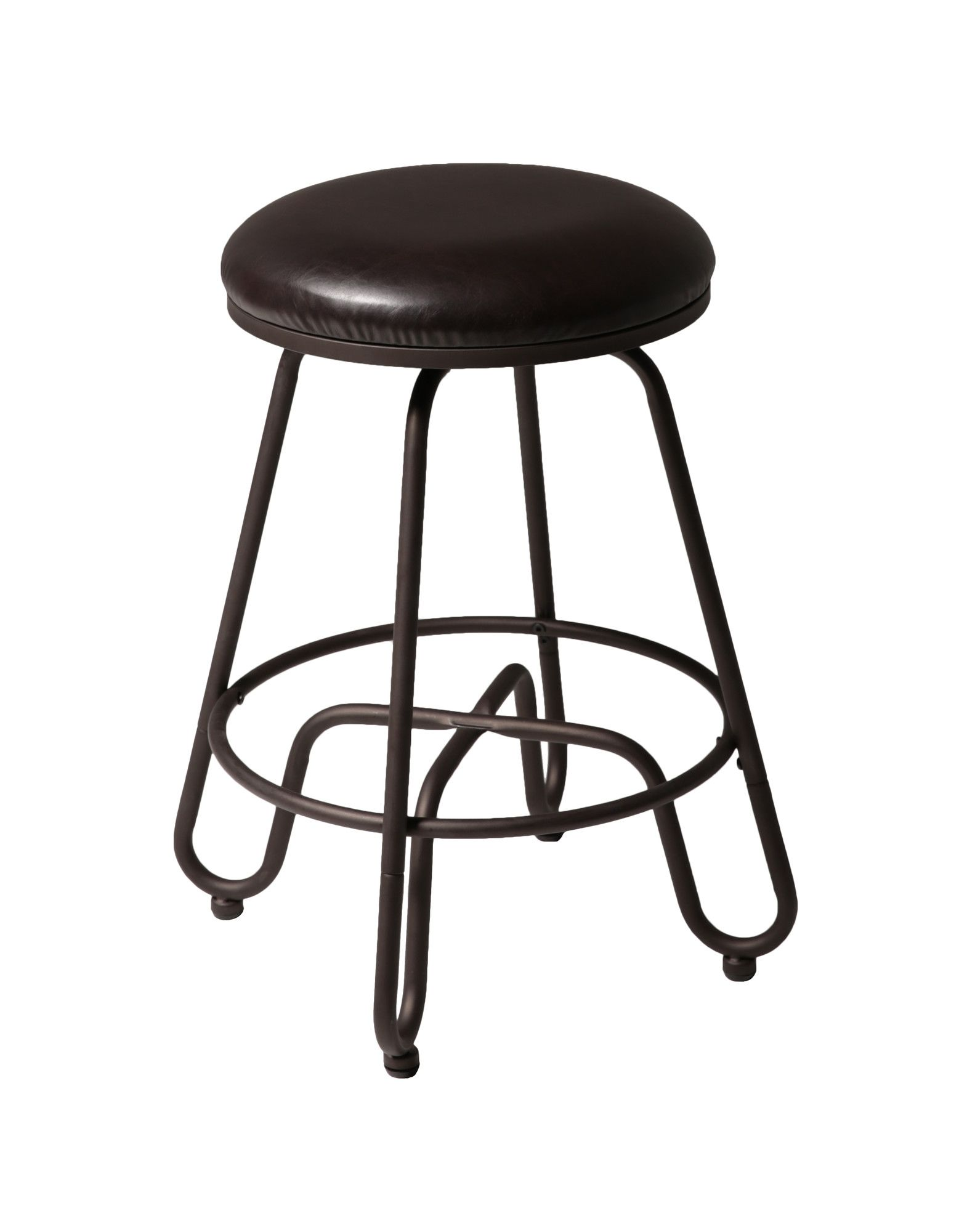 "Fashion Bed Group Denver 26"" Swivel Bar Stool with Cushion & Reviews"