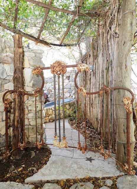Come Walk Through The Garden Gate Magnolia Pearl Garden