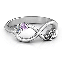 801405240cb83 Double the Love Infinity Ring | Jewelry | Rings, Mother rings ...