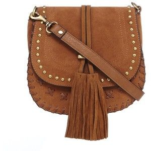 Faith Whipstitch Tassel Saddle Bag  c30fc6c347c5a