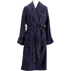 Photo of Gant velor bathrobe Premium (blue) Gant