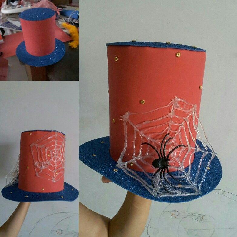 842669eb8 Sombrero loco spiderman   sombrero loco   Sombreros, Sombreros locos ...