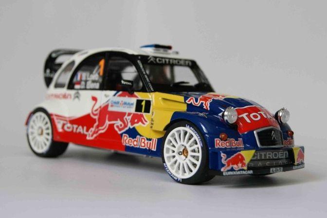 01Cars 2cvEt 2cv Voiture Citroen Miniatuur Rally nP8wOX0k